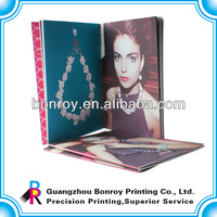 Custom Wholesale Folding Brochures Printing Services For Jewelry