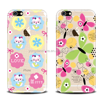 Oem/odm Beautiful Mobile Phone Back Cover Printed Pc Cell Phone ...