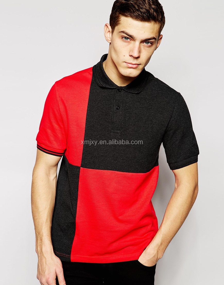 Handsome Bead With Cotton Cloth Black And Big Red Square Than Polo ...