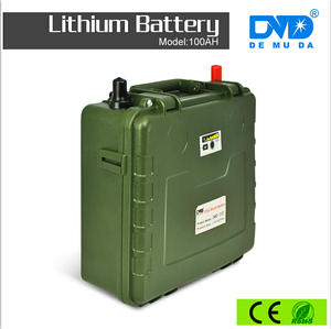 high capacity 50ah lipo battery 12v li-ion rechargeable battery