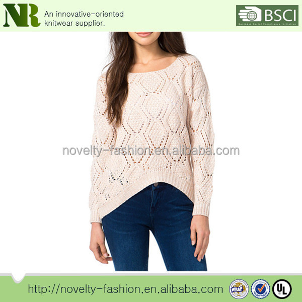 100% cotton Ladies Fancy Sweater ,Womens Latest Sweater design