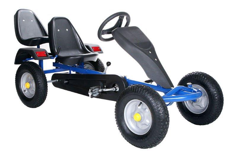 Heavy Duty Adult Pedal Go Kart 2 Seat Pedal Go Kart F160ab