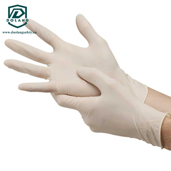 Used for Dental / Industrial Safety / Laboratory disposable examination latex gloves hot sale