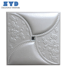 3d leather PU wall panel board instead of wallpaper ceiling also color as you need