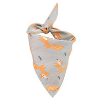 Dog Collar Soft Print Pet Cat Puppy Neck Scarf Neckerchief