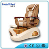 Luxury Leather Used Foot Spa Vibrating Shiatsu Massage Chair