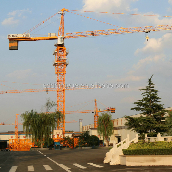 China Luffing jib Zoomlion Self erecting Tower Crane Price