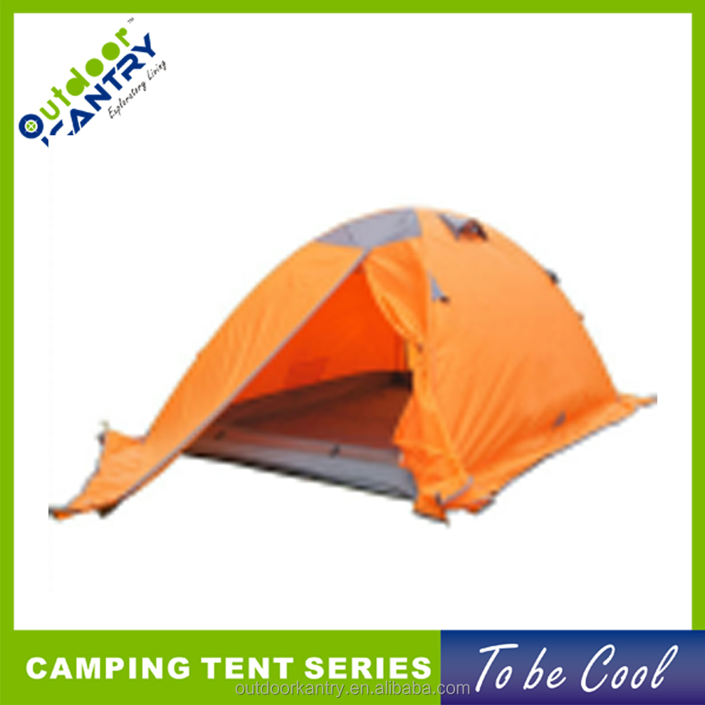 Cold Weather Winter Waterproof Tent 4 Person Aluminum Pole Quality Double Layer Camping Tent KY-Z2019-1