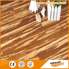 High Gloss Waterproof Vietnam Tiger Stripe Solid Strand Woven Cheap Eco Forest Bamboo Flooring Price