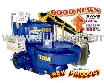 Foam Concrete Machine Model Rbm 1000 Buy Rbm Foam