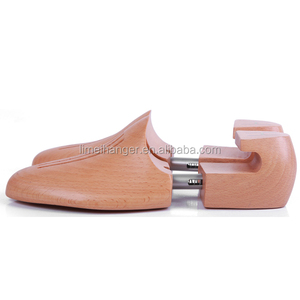 LM014 Customized Natural With Logo Beech Wooden Shoe Keeper
