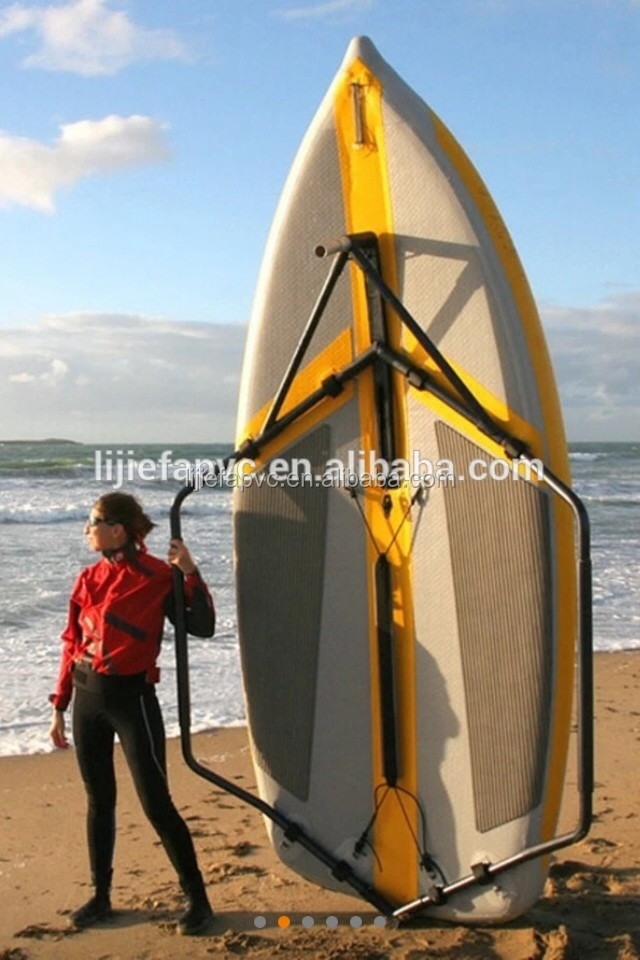 inflatabel sailing sup board