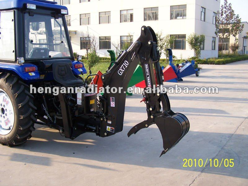 3pt tractor small backhoe for sale model GX 710