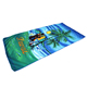 Sand Free Microfiber Printed Beach Towel, Palm Tree Beach Towel for Adults and Children