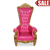 Fashionable design wholesale king and queen throne chairs