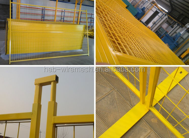 Fencing Trellis Gates Type and hot galvanized coated Frame Finishing outdoor fence temporary