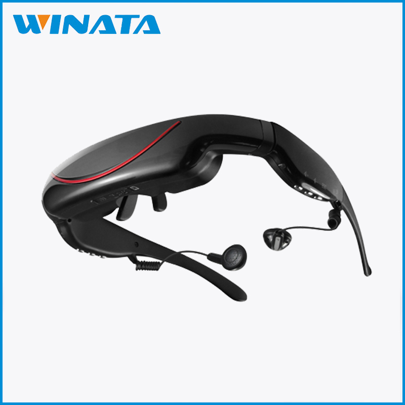 "1080p 72"" Large Screen Virtual FPV Video Goggles video glasses full hd"