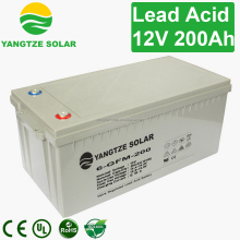 Solar 12v 200ah agm battery portable suction unit