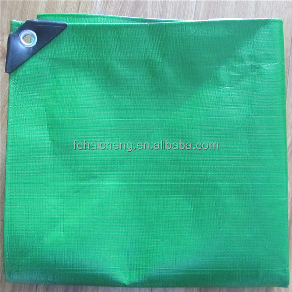 China Suppliers Of Green Pe Tarpaulin Plastic Canvas Fabric For ...