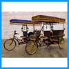Western-Style Motorized Battery 3 Passengers Rickshaw Manufacturer in China