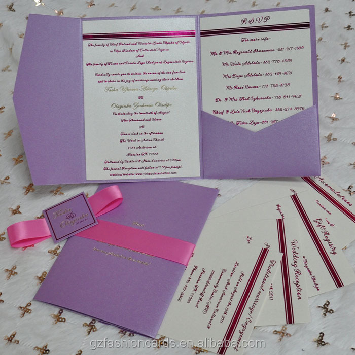 2015 New Design Wedding Custom Invitation Envelope - Buy Custom ...