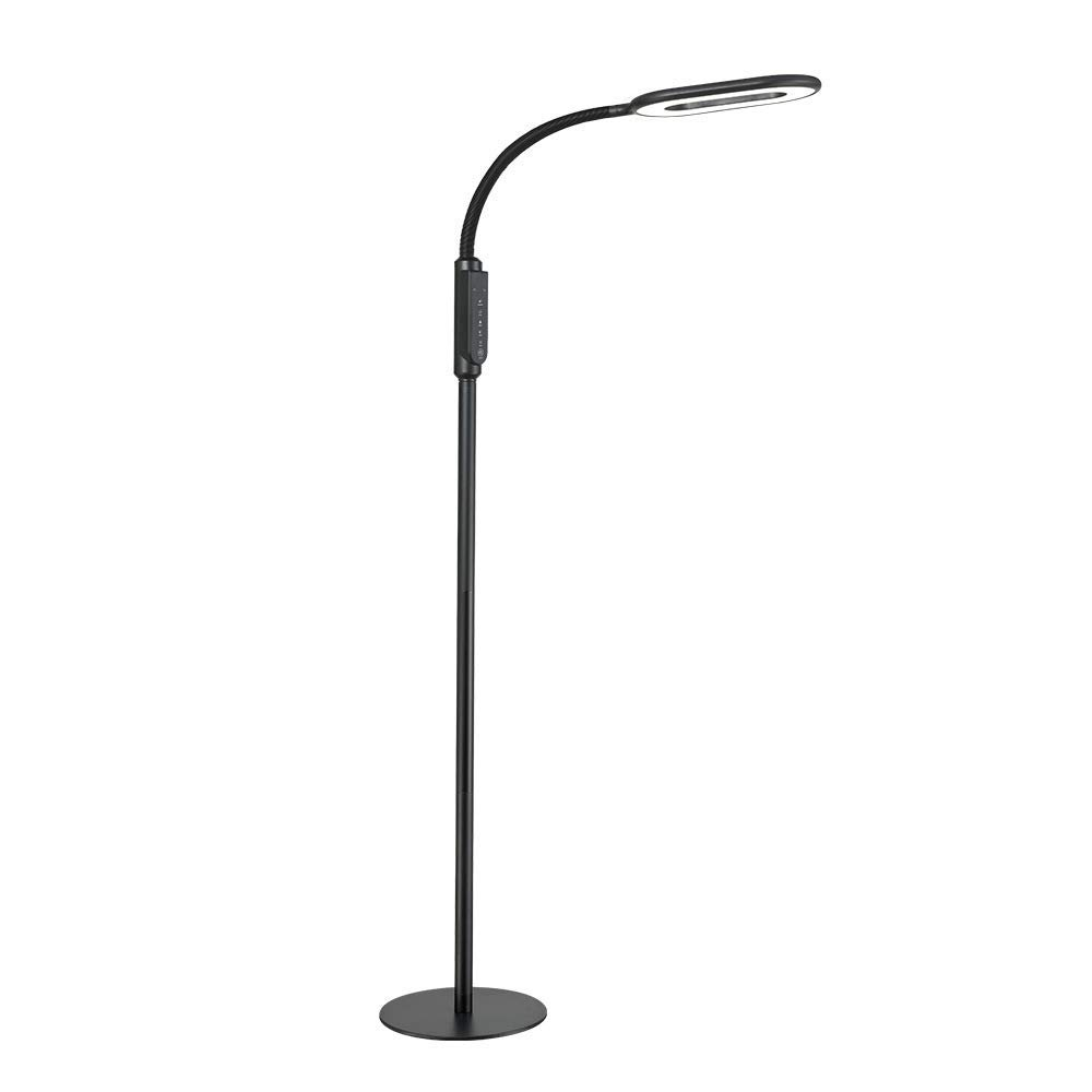 Efgs Floor Lamp Led Eye Care Light Reading Standing Dimmable For