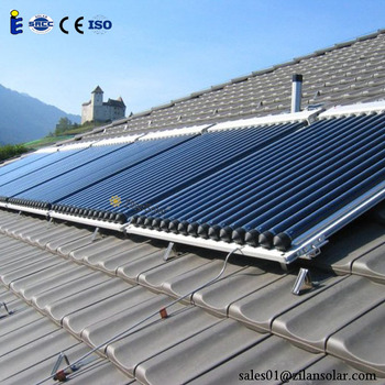 150l Evacuated Tube Heat Pipe Solar Collector Price Buy