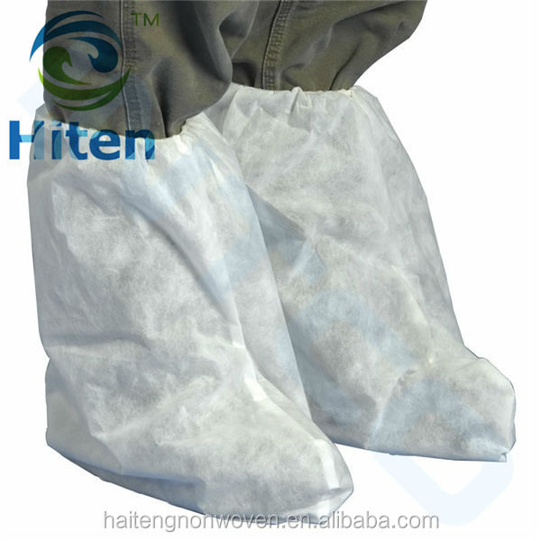 Hospital medical qualified PP non-woven disposable boot cover