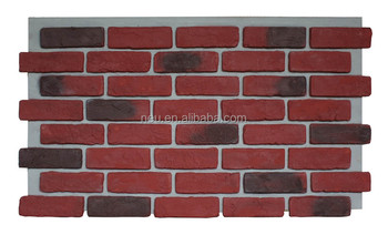 Exterior Faux Brick Siding Artificial Wall Covering