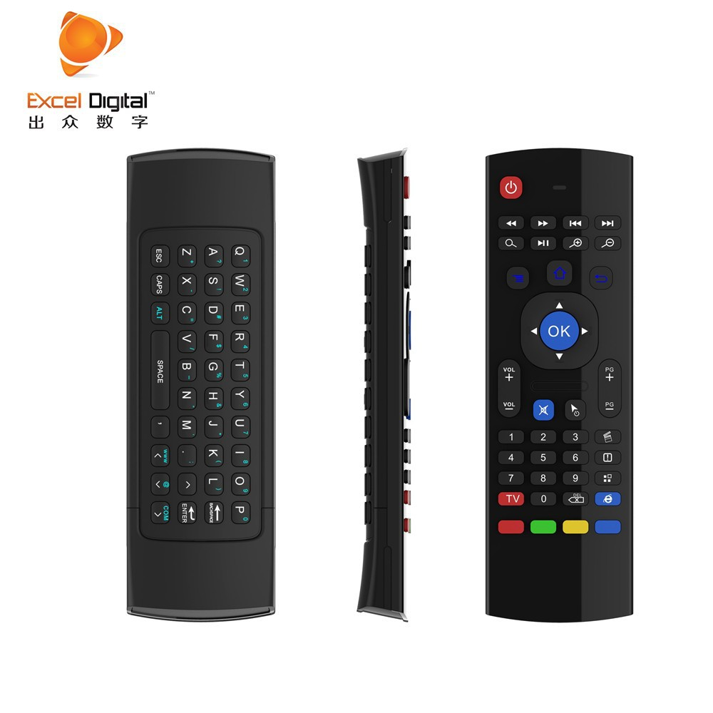product detail  g remote control for smart tv box air mouse wireless keyboard with voice xbmc android mini pc