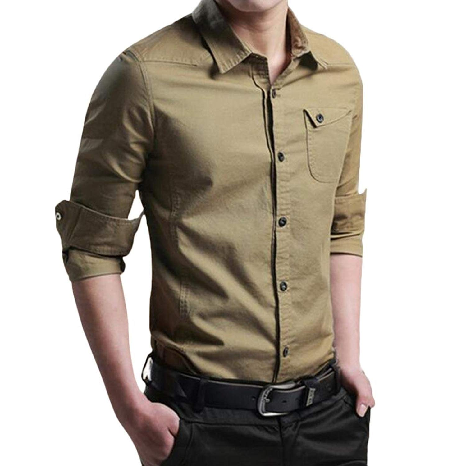 Cheap Button Up Long Sleeve Shirts For Mens Find Button Up Long