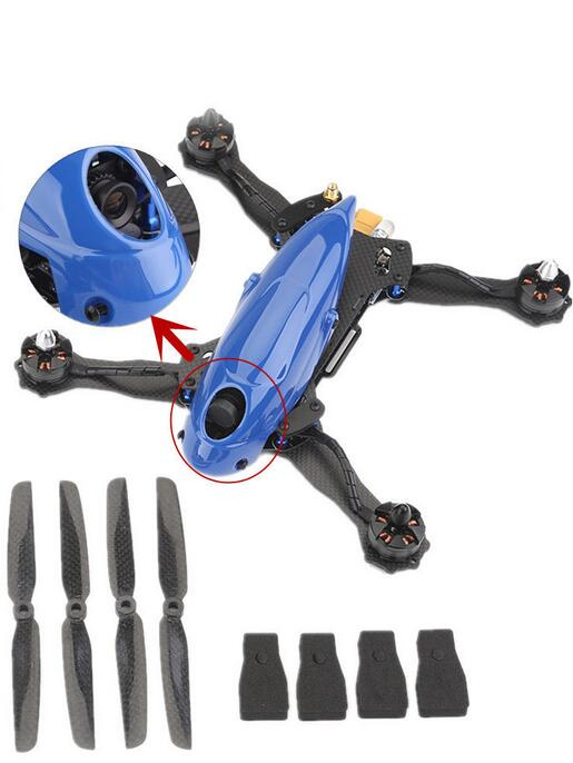 2017 hot selling 5.8G FPV Aircraft RC Drone with 350mw long range transmittion and HD camera
