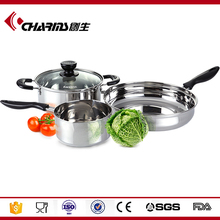 Induction Stainless Steel Cookware Set Kitchen, Wholesale Non Stick Cookware