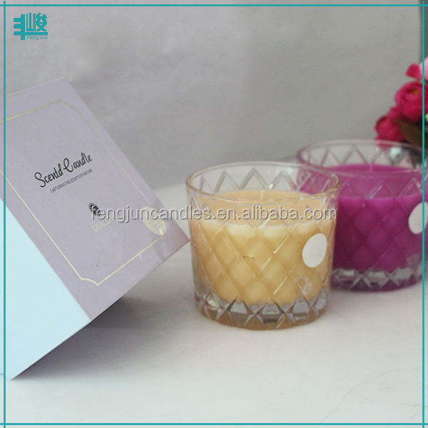 cross engraved pattern natural bulk organic soy clear candle wax for candle making