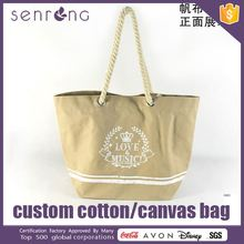 New Fashion Canvas Tote Bag Canvas Bags For Printing