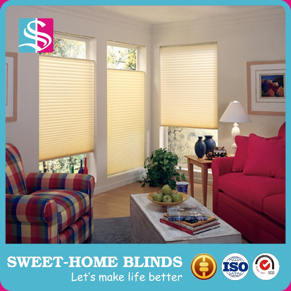 Blackout cellular pleated shade perfect fit plissee blind with cheap and best price