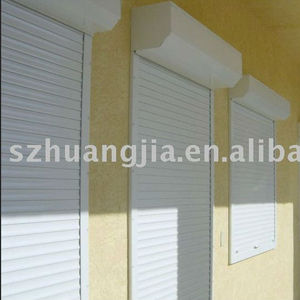 CE Marked Aluminum Rolling Up Security Bank door