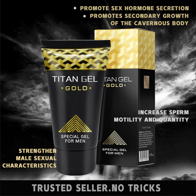 HOT SALE 1pc TITAN GEl GOLD Intimate GelためMan Penis Enlargement CreamためDick Growth Thicker Increase Xxl Sex Long Time