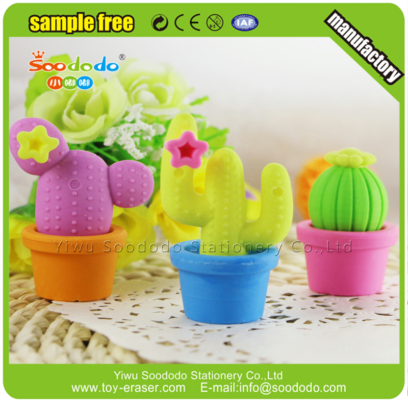 Disney Factory School Free Toy Samples Cactus Plants Eraser