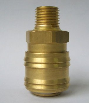 German type brass quick connectors