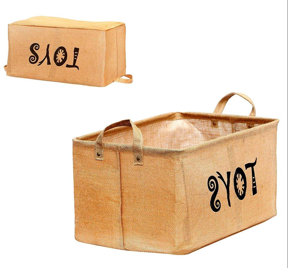 Get Quotations · Toy Chest Baskets Storage Newest Well Standing Storage Bins  For Dog Toys Kids Blankets   Skroutz