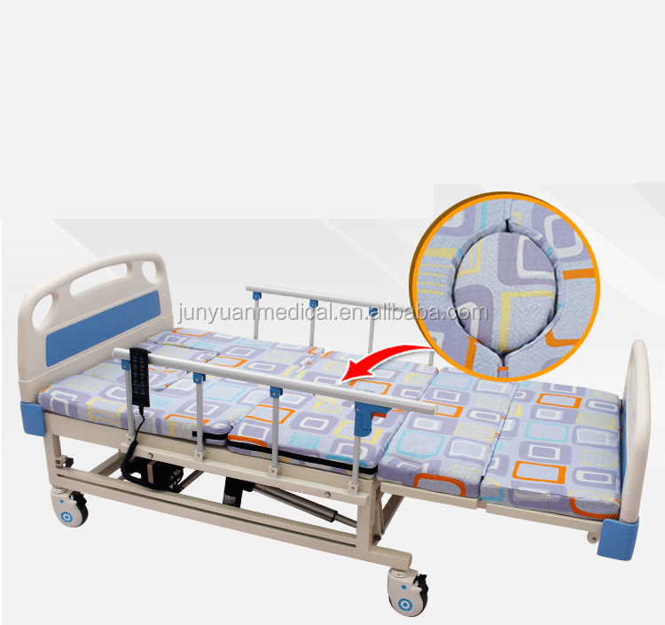 junyuan D01-1low price electric care bed hospital bed icu for sale