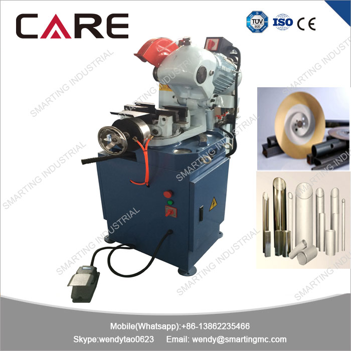 MC-275B Semi automatic type pneumatic steel tube cold <strong>cutting</strong> saw machine