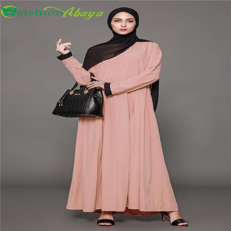 Catálogo de fabricantes de Vestido Rosa Musulmán de alta calidad y ...