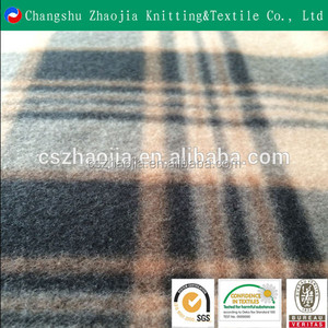 China oeko tex knitting supplier 100% polyester micro polar fleece brushed polyester knit fabric