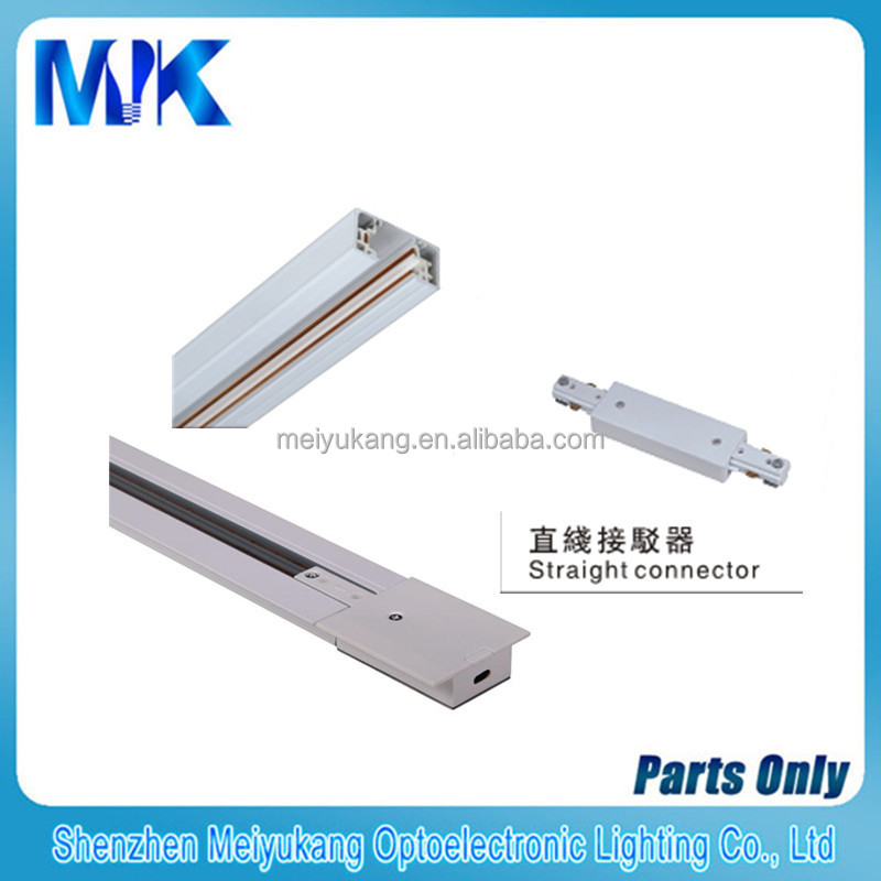 track lighting rail. track lighting system 2015 1m connector for 3 wire rails systems rail
