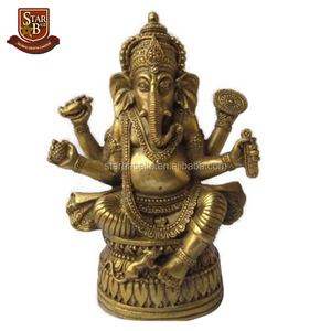 Custom made wholesales home decorative resin hindu god religious items