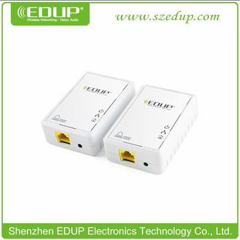 EDUP EP-PLC5513 200Mbps Home Plug AV Ethernet Bridge Powerline Adapter EP-PLC5513