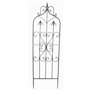 Metal Outdoor Tall Panel Ornament European Antique Garden Art Fencing Decorative Cheap Wrought Iron Garden Wall Fence Buy Cast Iron Metal Wall