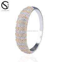 BG17301 Wholesale 2017 new custom fashion adjustable charms expandable sterling silver bracelet